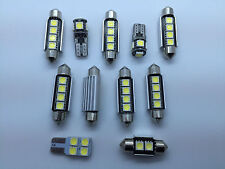 KIT 11 LED Interior Lights Volkswagen MK4 GTI GT VW GOLF 4 Bulbs White GR