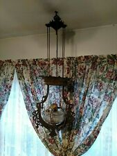 Partial Hanging Oil Lamp Bradley Hubbard Cast Iron? 1877 1880