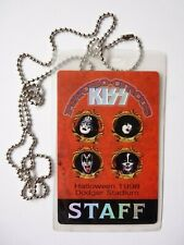 KISS Psycho Circus Tour Used STAFF Backstage Pass Laminate Smashing Pumpkin 1998