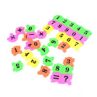 36x Kids Plane Numbers Play Jigsaw Puzzle Early Educational Arithmetic Toy BDAU