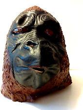 Vintage Halloween Gorilla Monkey Ape Latex Adult Size Mask Similar to Don Post