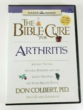 The Bible Cure for Arthritis AUDIO CD and GUIDEBOOK Don Colbert, MD. Audiobook