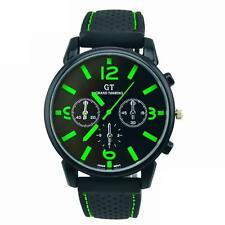 HOT Fashion NEW Cool Mens Military Wrist Stainless Steel Leather Sport Watch