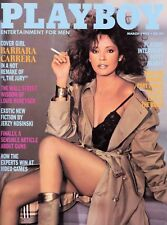 PLAYBOY MARCH 1982 Barbara Carrera Karen Witter Patty Hearst Louis Rukeyser