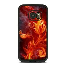 Skin for LifeProof FRE Galaxy S7 - Flower Of Fire - Sticker Decal