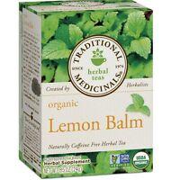 Traditional Medicinals Organic Lemon Balm Tea 16 ea