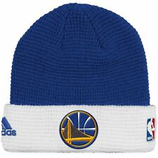 NBA Golden State Warriors Adidas NBA 2015 Authentic Team Cuffed Knit Hat