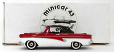 Kenna Models Minicar 43 1/43 Scale EHE2 - 1958 Ford Taunus Top Up Red/White