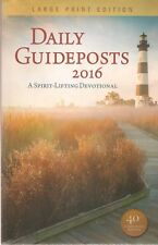 Daily Guideposts 2016: A Spirit-Lifting Devotional Paperback by Zondervan
