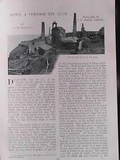 Cornish Tin Mine Dolcoath Levant Camborne Botallack Cornwall Mining Pit Accident