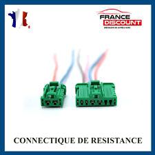 Cable avec broche pour Resistance Chauffage RENAULT SCENIC 2 clim automatique