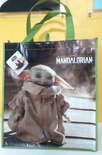The Mandalorian Baby Yoda Child Reusable Tote GROCERY Shopping Gift Bag Star War