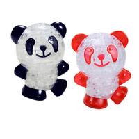Panda 3D Crystal Panda Puzzle Puzzle Diy Model Gift Jigsaw 3D Toy Crystal