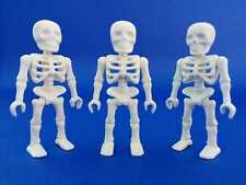 playmobil Toys figure lot rare geobra 3 collectables Western skeletons horror