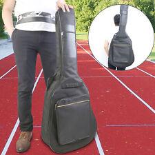Chase CGB106SB Super Jumbo Acoustic Guitar Gig Bag 10mm Padding Padded Shoulder Straps Soft Case