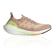 adidas Womens Ultra Boost 21 Running Shoes Trainers Sneakers Pink Sports