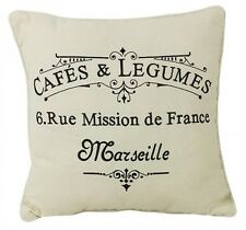 French Vintage  Style  Cushion w  Insert      30cm x 30cm       BRAND NEW