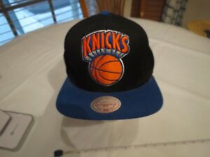 Knicks basketball team hat STAINED Mitchell & Ness cap NOSTALGIA CO NBA adjust