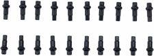 Squorx - DT Swiss Squorx Pro Head Pro Lock Brass Nipples: 2.0 x 15mm, Black, Box