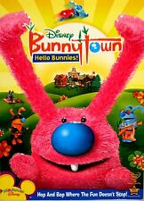 Bunnytown - Hello Bunnies DVD, NEW! FREE SHIP , DISNEY ,EASTER CHILDRENS,SING !