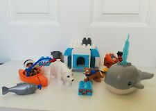 Lego Duplo set 10803 Around the World Arctic with Whale and Eskimo Figure 100%