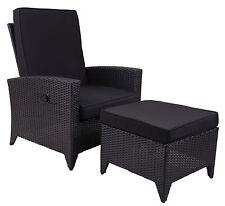 Black Outdoor Furniture Sets