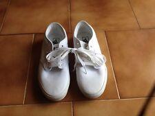 Sneakers VANS modello Atwood Canvas total white skater taglia 41 NUOVE originali