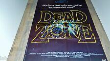 DEAD ZONE   ! david cronenberg stephen king  affiche cinema