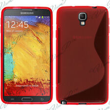 ACCESSORIES COVERS CASE TPU SHELL S GEL RED SAMSUNG GALAXY NOTE 3 NEO N7505