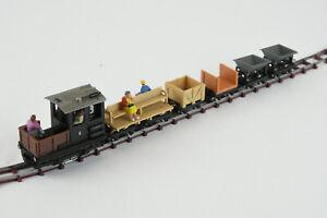 Egger-Bahn Jouef HO Narrow Gauge [HOe HOn30 HOn2½] Diesel Goods Set #711100