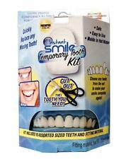 BLUE BOX  INSTANT SMILE TEETH REPAIR KIT W 2 PKGS EX BEADS easy replace  tooth