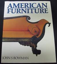 American Furniture John S Bowman 1985 Hardcover HC