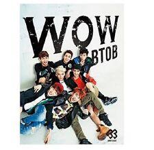 KPOP BTOB WOW (JPN ver.) Japan Debut Single (CD + DVD + Booklet + Photo card)