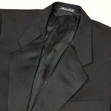 Giorgio Armani Mani Black Satin Lapel Tuxedo Dinner Jacket • Italy • 40 Reg