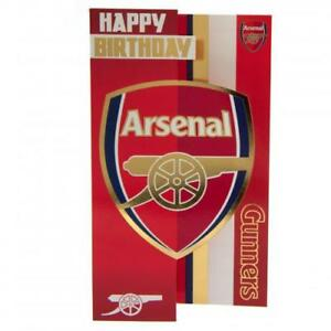 ARSENAL F.C. Happy Birthday Card FREE U.K. P&P
