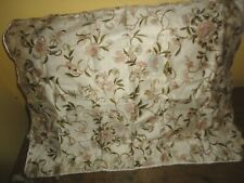 Ralph Lauren Romantic Traveler Floral Cream Green (1) Standard Pillow Sham 20X26
