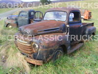"Pic #1--8x10 Photo: 2 ""F"" Series Ford Pickups Abandoned in the Blue Ridge Mts!"