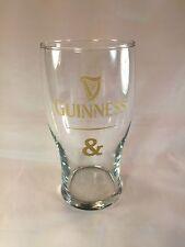 Guinness & Tulip Pint Glass Harp Beer 20oz  Bar Pub Man Cave