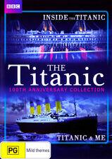 Titanic 100 Anniversary Compilation NEW DVD (Region 4 Australia) Inside & Me