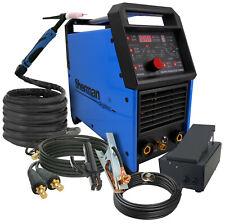 Sherman Inverter Welder Machine 200amp pulse DIGITIG 200GD AC/DC + PEDAL CONTROL