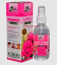 120ml Pure Rose Water Spray, Life Style, Face Cleanser Moisturizer Toner, Halaal
