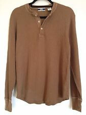 GAP Brown Thermal Henley Medium