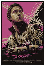 DRIVE  *LARGE POSTER* -  Ryan Gosling  Nicolas Winding Refn promo MOVIE ad
