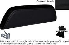 Negro Stitch Custom encaja Cagiva Mito 125. 90-94. respaldo cojín de cuero Funda De Asiento