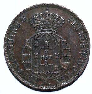 1860 Angola (Portuguese Africa) Half 1/2 Macuta - Pedro V - Lot 916