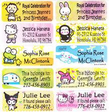 40 SANRIO Waterproof Name Labels-SCHOOL,DAYCARE(Buy 5 get 1 FREE)