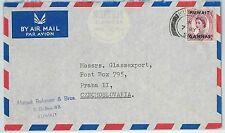 64488 - KUWAIT - POSTAL HISTORY - AIRMAIL COVER to CZECHOSLOVAKIA 1956