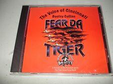 Bootsy Collins - Fear Da Tiger (CD, 2005) Brand New, Sealed , Cincinnati Bengals
