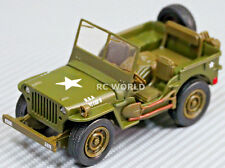 1/32 DieCast MILITARY JEEP WILLYS 4X4 Model Truck   -New-