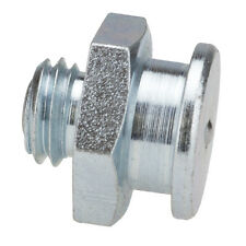 M12 x 1,5 [10 Stück] DIN 3404 Ø16mm Flachschmiernippel Stahl verzinkt